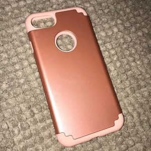 Accessories - pink iphone 6/6s/7 case otter box look alike